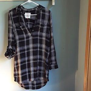S O    plaid dress